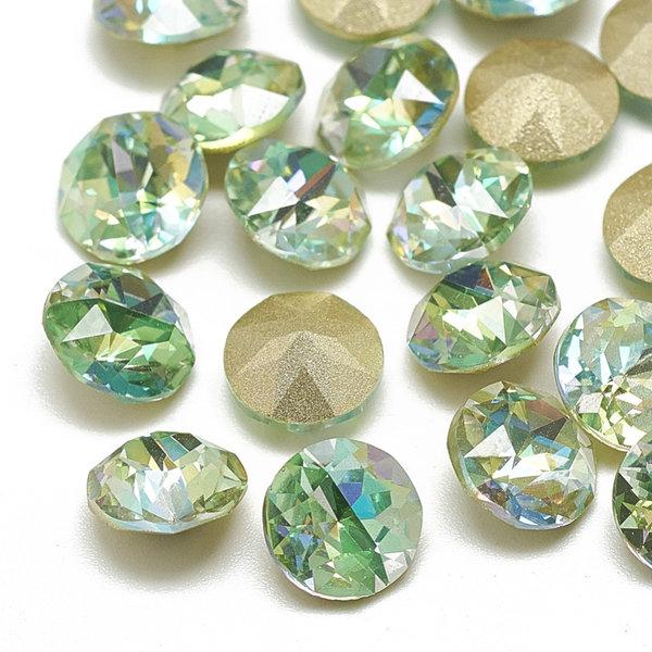 Puntsteen Green Diamond 6mm / ss29