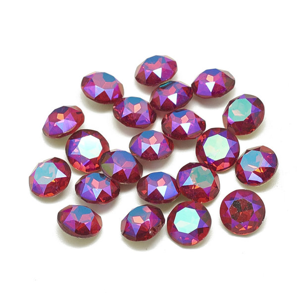 Point Stone Pink Fire 6mm / ss29