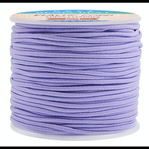 Elastic 2mm Purple, 1 meter