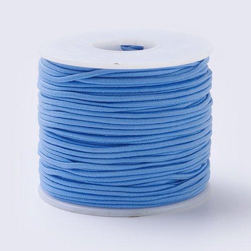 Elastic 2mm Blue, 1 meter