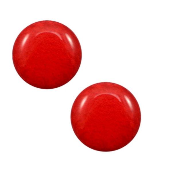 Polaris Cabochon 20mm Soft Shiney Red