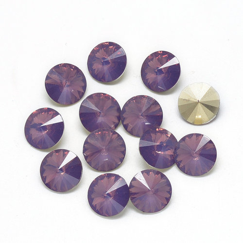 Rivoli Puntsteen 12mm Hazy Purple