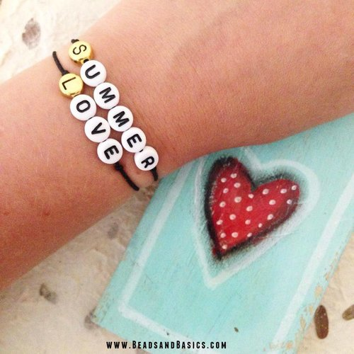 Summer Love Quote Bracelets