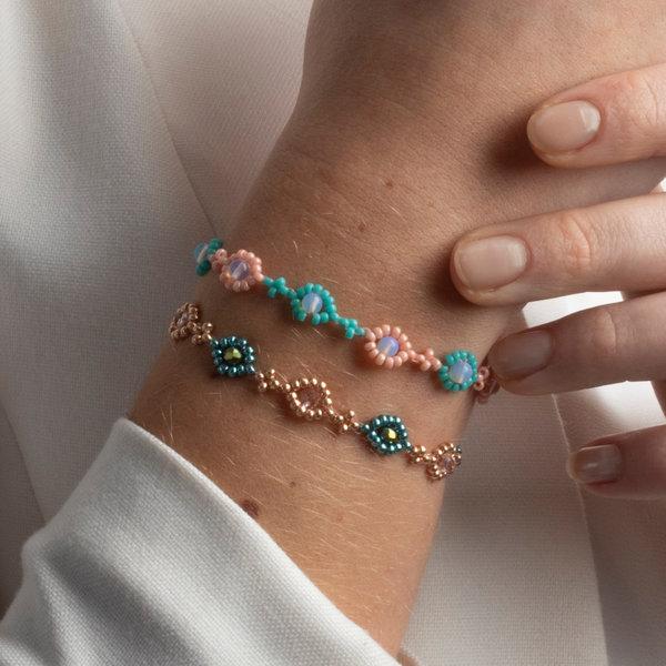 Schattige Armbandjes Maken met Simpel Rijgpatroon