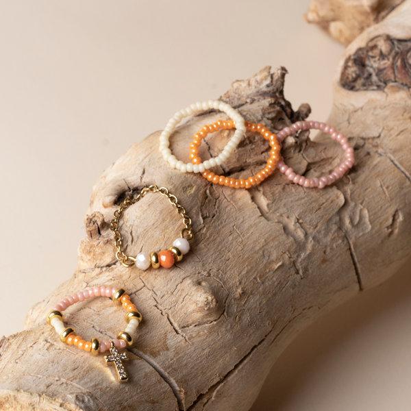 Zelf Ringen Maken met Kralen