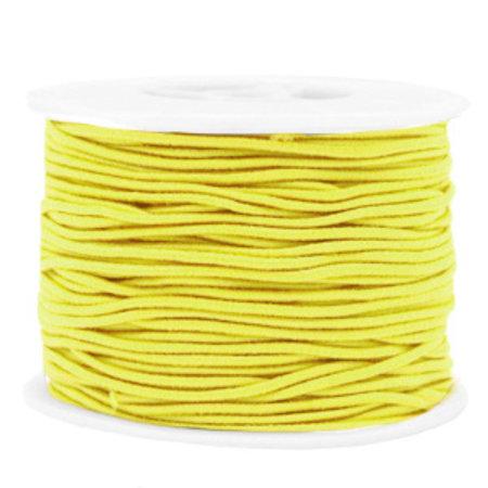 Elastic 1.5mm Yellow, 1 meter