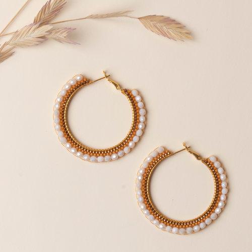 How to Make Bohemian Earrings with Miyuki Beads