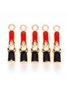 Bedel Lippenstift Goud Zwart Rood 19x4mm
