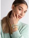 Turkoois & Geel Armbanden Setje Met Waxkoord Maken