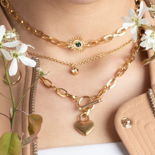 Make your own Chunky Chain Stainless Steel Necklaces