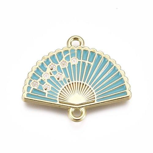 Fan Link Golden Blue 20x23.5mm