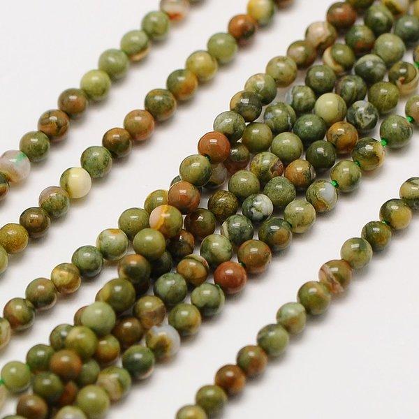Natural Rhyolite Gemstone Beads 2mm, strand 40cm, 174 pieces