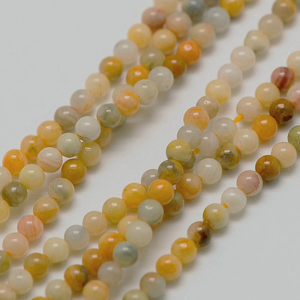 Natural Crazy Agate Gemstone Beads 2mm, strand 40cm, 180 pieces