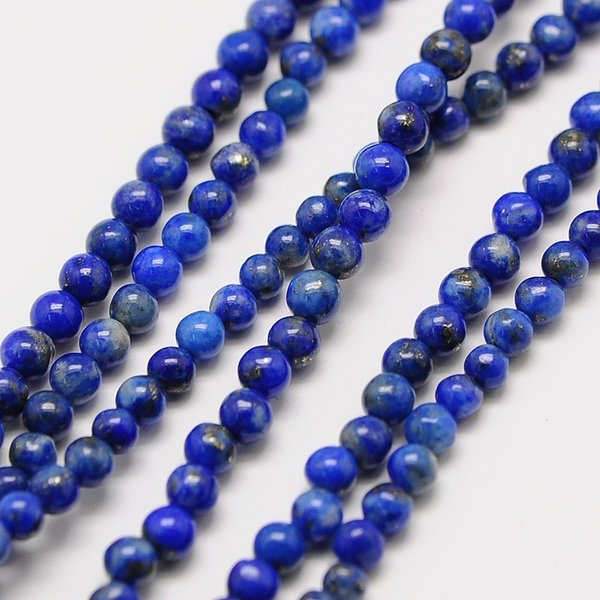 Natural Lapis Lazuli Grade AB Edelsteen Kralen 2mm, streng 40cm, 174 stuks