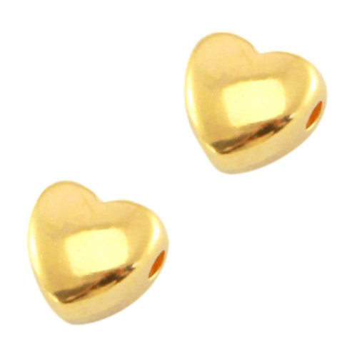 24 pieces Designer Quality Beads 6mm Nickel Free Golden