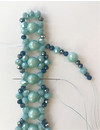 How to make a Chique Beadwork Pattern Bracelet