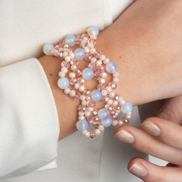 Chique Rijgpatroon Armband Maken