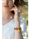 Leather Boho Style Bracelet 2 Color Variations