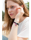 DIY Tutorial Macramé en Suede  Veter Armband met Bedeltjes in 2 Kleuren Variaties