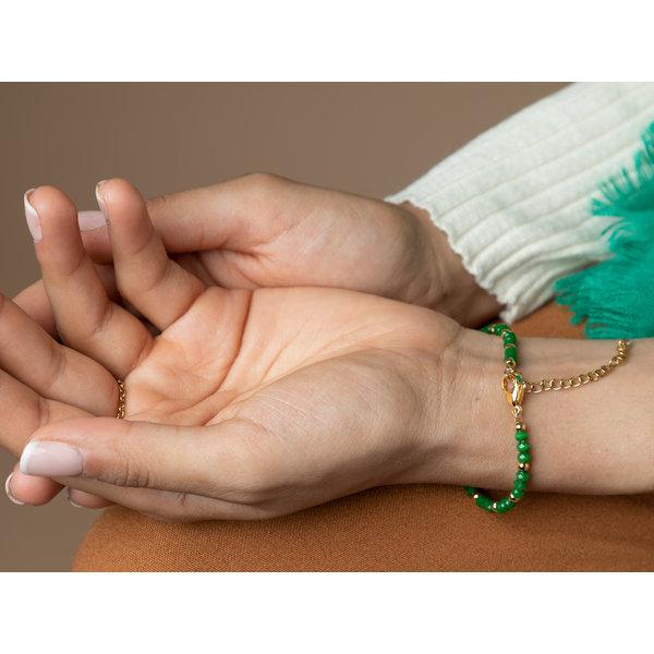 Handsieraad Goud met Smaragd Groen Maken