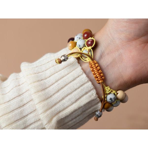 Shamballa Armband Maken met Edelstenen en Macramé Knopen