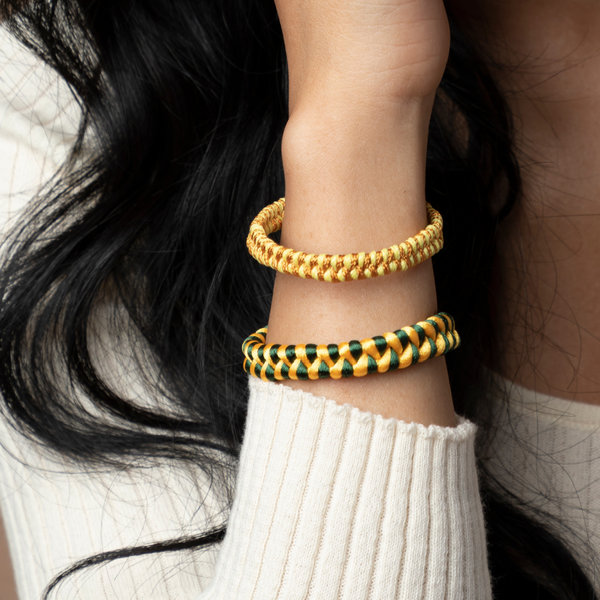 How to Braid a Bracelet with Satin or Waxed Cord