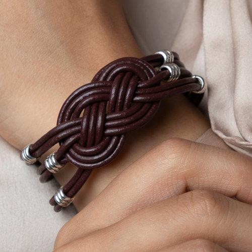 Keltische Knoop Leren Armband Maken