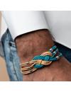 Heren Armband Maken met Keltische Knoop van Leer