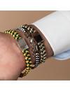 Heren Armband Vlechten met Satijnkoord of Waxkoord