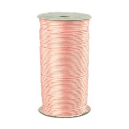 Satijnkoord Pale Pink 2mm, 3 meter
