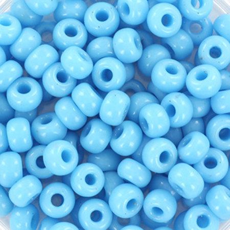 10 grams Miyuki Seed Beads 4mm 6/0 Opaque Turquoise Blue