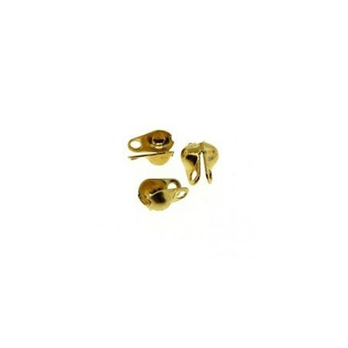 20 stuks Eindkapje Goud Voor Ballchain 1.5mm