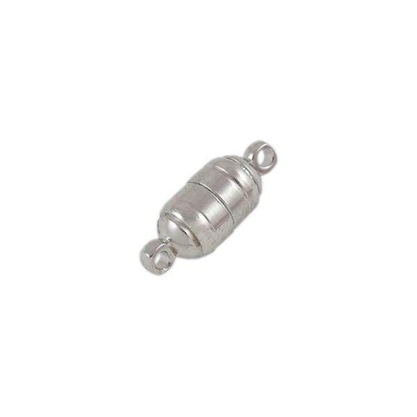 Magneetsluiting Zilver Nikkelvrij 15x6mm