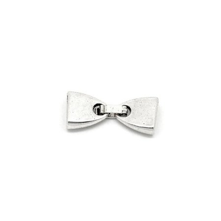 3 pieces Silver Clasp for 10mm Leather Band
