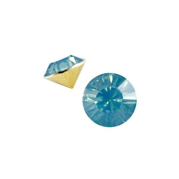 Point Stone SS29 Blue pacific opal 6.2mm