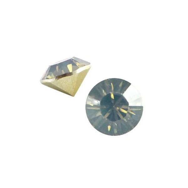 Point Stone SS29 Light colorado topaz opal 6.2mm