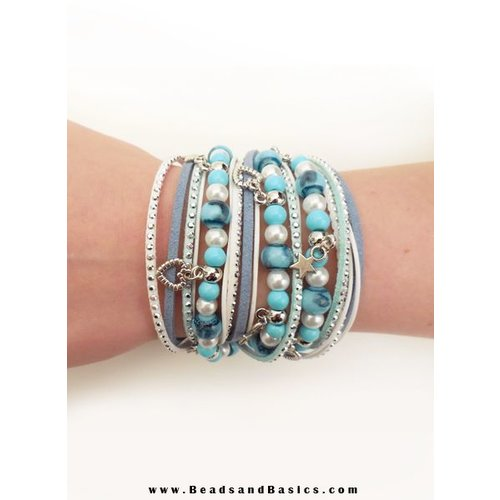 Wrap Bracelet Blue