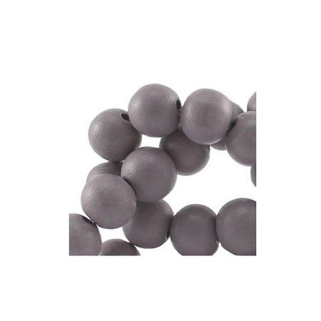 40 pcs Grey 6mm