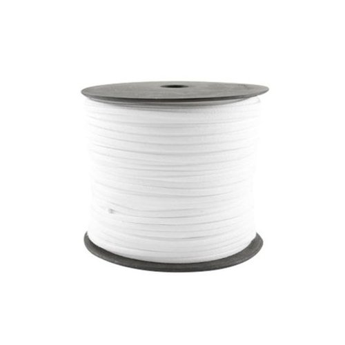 3 meter Suede Cord White 3mm