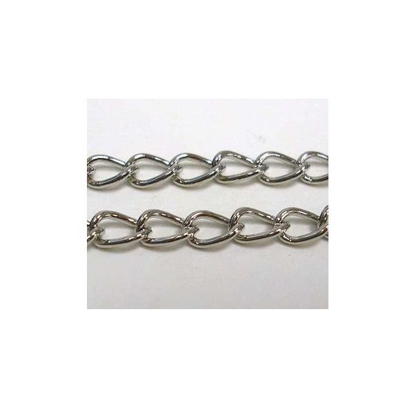 Chain Antique Silver 4mm, 1 meter