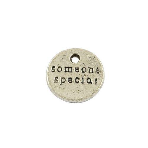Bedel Zilver 'Someone Special' 10mm, 8 stuks