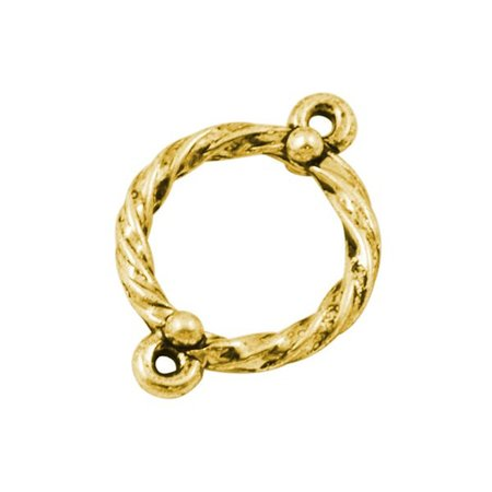 5 pieces Link Gold 16mm