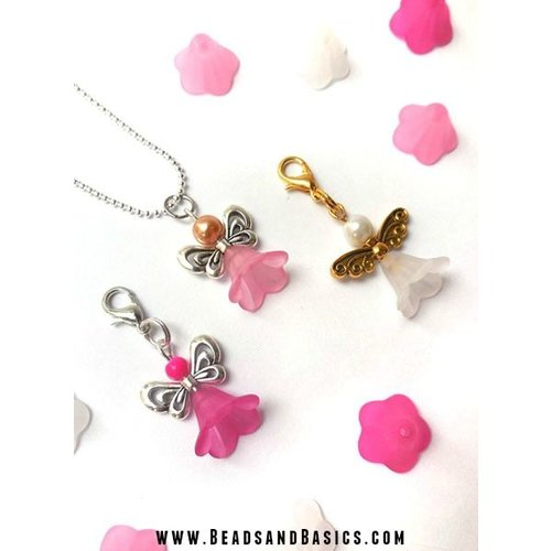 Lucky Angels Of Flower Beads