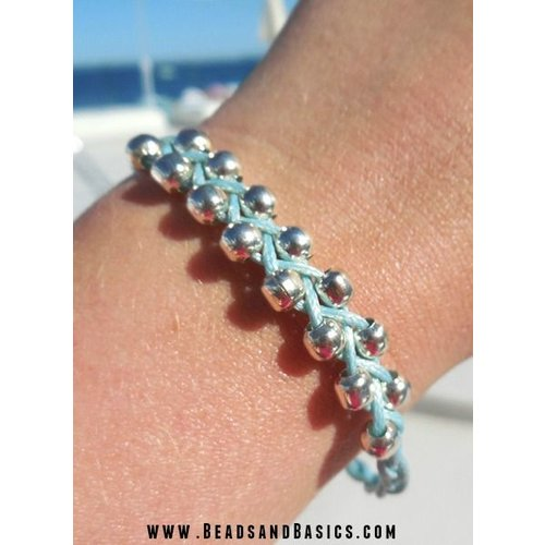 Braided Bracelet With Beads