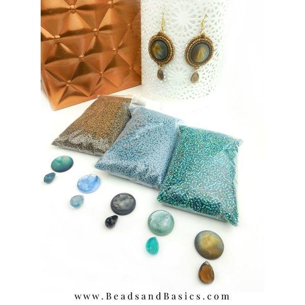 Bead Embroidery Oorbellen Maken Van Miyuki Kralen
