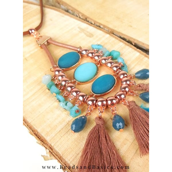 Boho Statement Ketting Maken + Video
