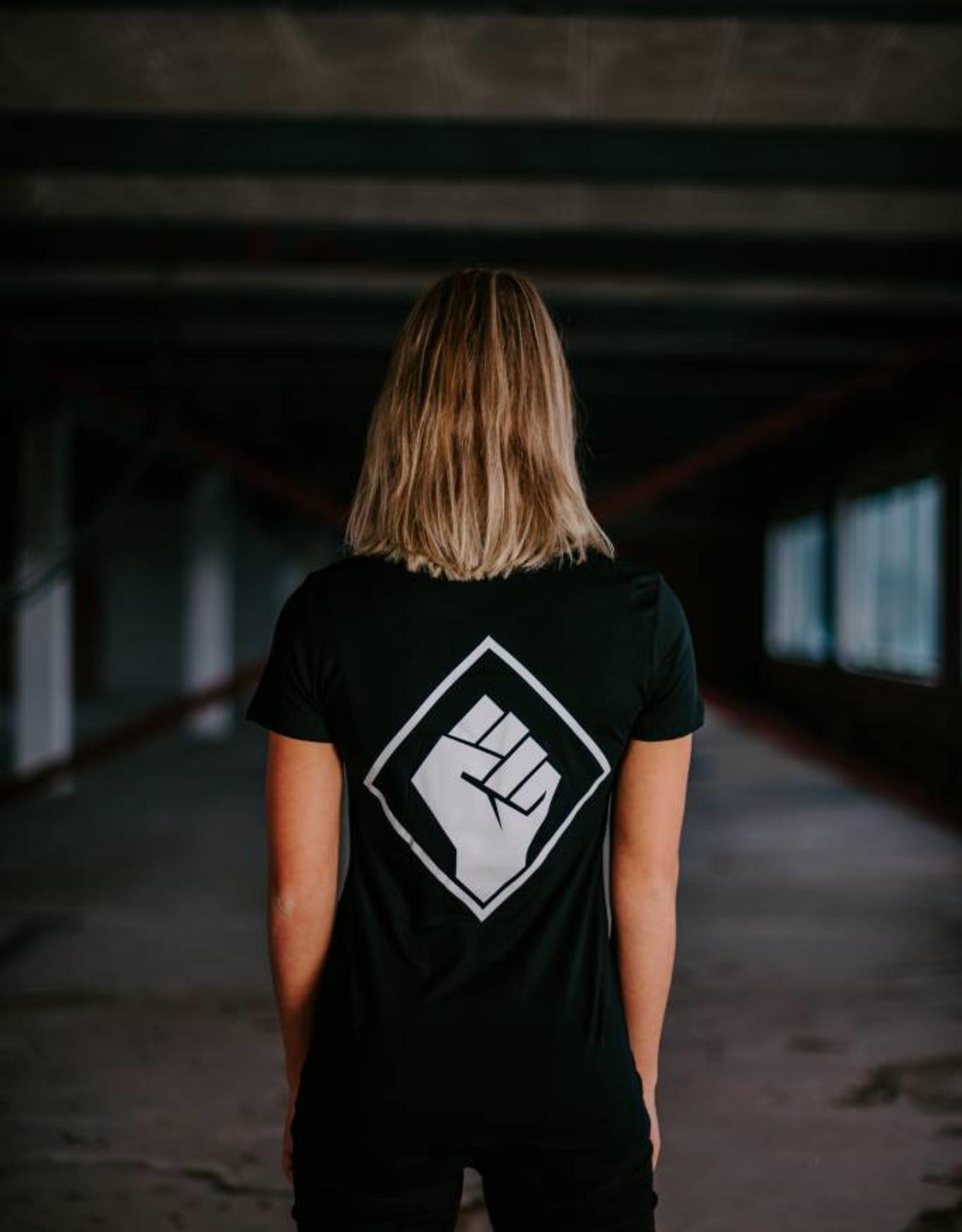 Rotterdam Rave Rotterdam Rave T-shirt Logo Back (Woman)