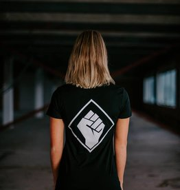 Rotterdam Rave T-shirt (woman) logo back