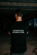 Rotterdam Rave Rotterdam Rave T-shirt Slogan (Man)