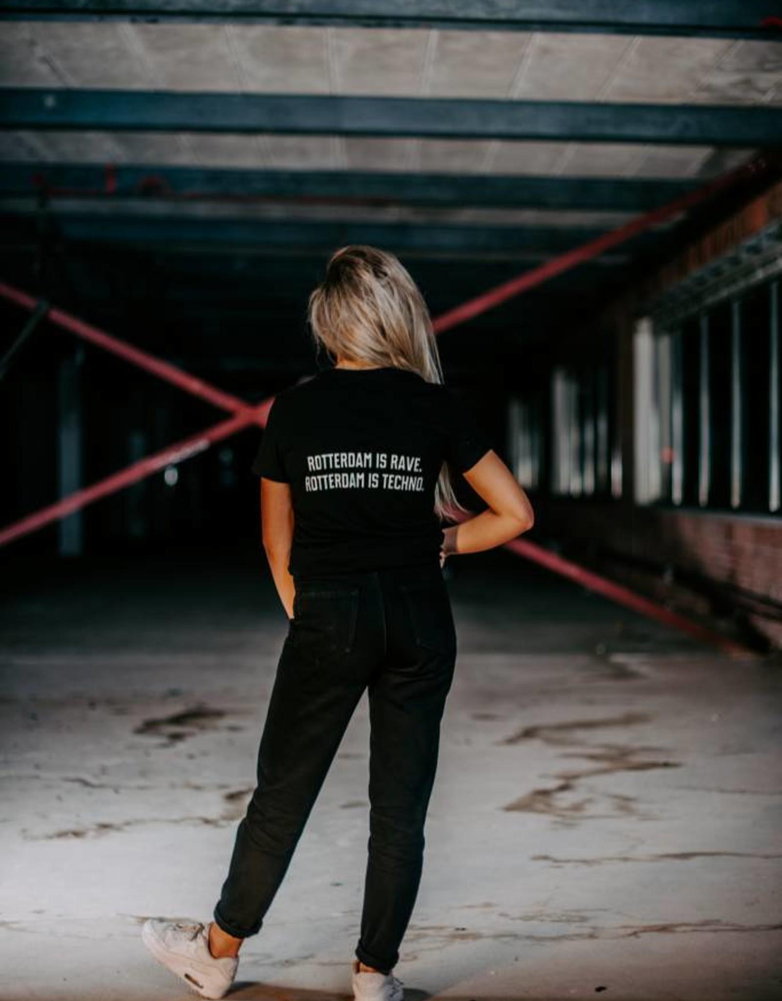 Rotterdam Rave Rotterdam Rave T-shirt Slogan (Woman)